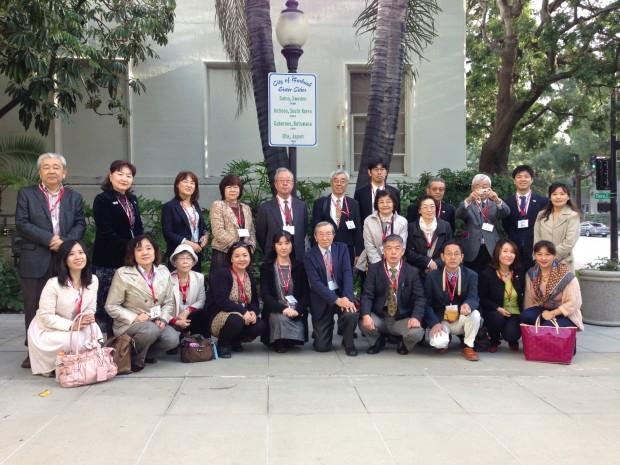 Ota Japan Delegation 2015